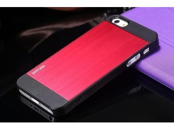 iPhone 5S / 5 Case Saturn - Metal Red Black