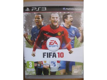 SPEL Playstation 3 PS3 - SPELPS3 - Fotboll FIFA 10