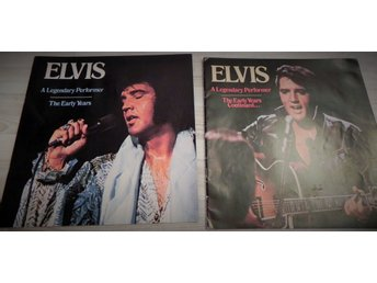 2 st Elvis Presley häften. The early years och Continued.
