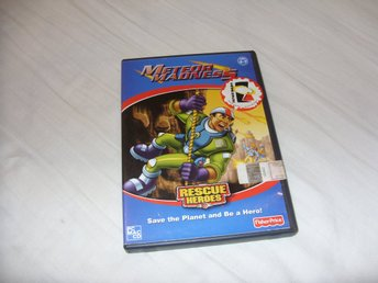 Meteor Madness Rescue Heroes PC & Mac CD ROM barn spel Fisher Price Engelsk