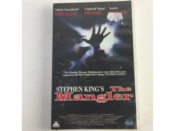 Film Co, VHS-film, Stephen Kings The Mangler