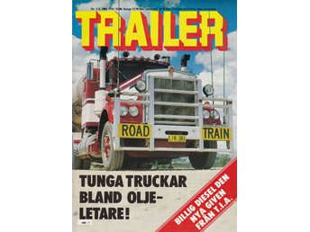 Trailer 1983-1-2 Svempa.Vittangi.Road Train Australien