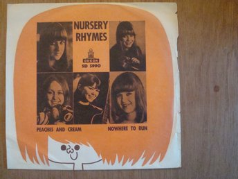 NURSERY RHYMES - ODEON SD 5990 / 7´´ SINGEL 1966 TJEJBAND POP STOCKHOLM
