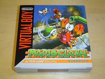 Mario Clash Nintendo Virtual Boy Japanskt *NYTT*