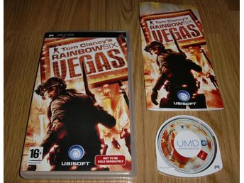 PSP: Tom Clancy´s Rainbow Six Vegas