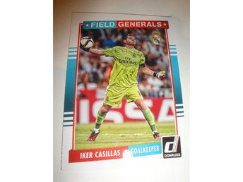Panini Donruss Soccer 2015 - Field Generals - IKER CASILLAS - Real Madrid