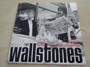The Wallstones Invisible people Melodifestivalen 2005 CD Singel