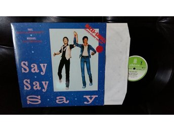 "Paul Mcartney& Michael Jackson"" Say Say Say "" Singel 12"