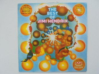 VINYL LP JIMI HENDRIX    THE BEST OF