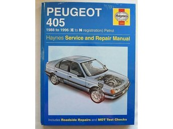 Peugeot 405 verkstadshandbok - Saltsjöbaden - Peugeot 405 verkstadshandbok - Saltsjöbaden