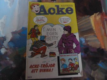 ACKE, 1978 NR 3, MIN EGEN BETTY, TIDNING