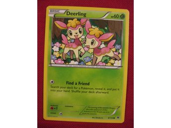 DEERLING - POKEMON - NYTT KORT - FATES COLLIDE 8/124