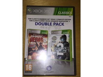 XBOX 360 Rainbow six vegas 2, ghost recon 2
