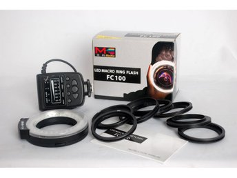 Meike Led macro ring flash FC100