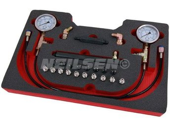Professional Brake Pressure Test Service kit - Mechanics Dial Meter Tester