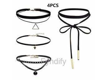 Halsband Set 4 Pieces Per Set