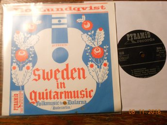 BO LUNDQVIST - Sweden in guitarmusic, Pyramid EP 1968 Folkmusic from Dalarna