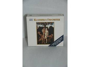 Klassiska Favoriter Komplett cd-set med 3 cd