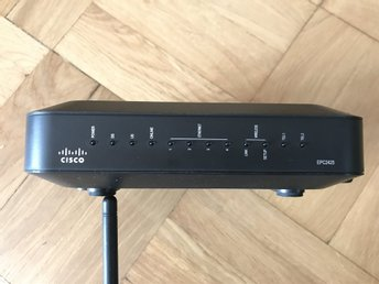 EPC2425 Kabelmodem med CISCO router SIP funktion