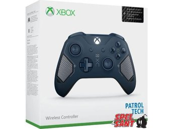 Microsoft Xbox One Wireless Bluetooth Controller Patrol Tech Special Edition