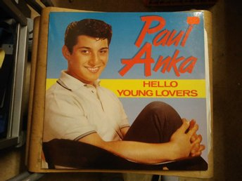 Paul Anka - Hello Young Lovers, LP