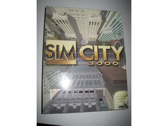 Sim City 3000 Pc Big box
