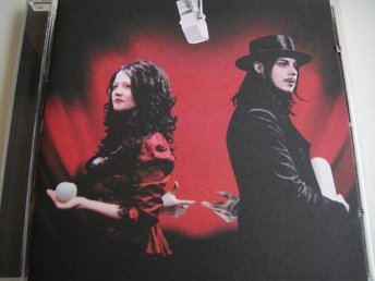 WHITE STRIPES Get behind me satan CD TOPPSKICK!! JACK WHITE RACONTEURS