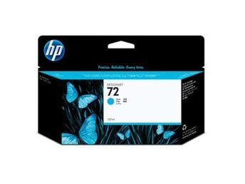 HP No72 Cyan Ink Cartridge 130ml