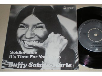 Buffy Sainte-Marie 45/PS Soldier blue 1970