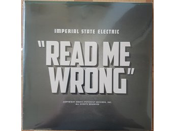 "Imperial State Electric""Read me wrong"" 12"""