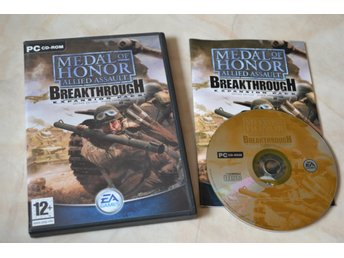 Medal of Honor Allied Assault Breaktrough Expansion Pack PC Komplett Fint Skick