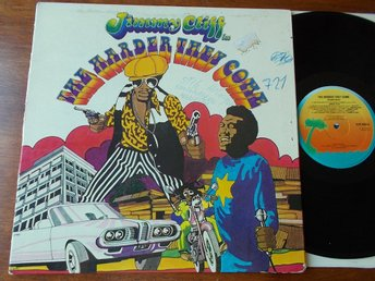 JIMMY CLIFF - The harder they come (1972), Soundtrack LP Island UK senare press