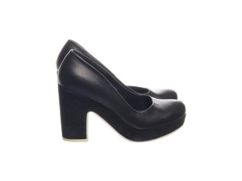 COS, Pumps, Strl: 38, Svart