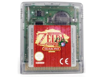 The Legend Of Zelda: Oracle Of Seasons - Game Boy Color