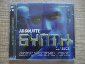 Dubbel-CD Absolute Synth Classics