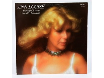 Ann-Louise Hanson - You Ought To Write Yourself A Love Song HGP 3009 LP 1978