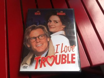 DVD - I love trouble (Nolte/Roberts) -   FINT SKICK