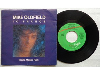 "MIKE OLDFIELD 'To France' 1984 Italian 7"" - Bröndby - MIKE OLDFIELD 'To France' 1984 Italian 7"" - Bröndby"