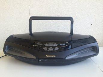 PANASONIC RX-ED77 CD CASSETTE AM/FM COBRA BOOMBOX - Bjuv - PANASONIC RX-ED77 CD CASSETTE AM/FM COBRA BOOMBOX - Bjuv