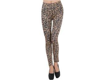 Leggings Tights Byxor - Leopard Styles Hela B - XS S M - Uddevalla - Leggings Tights Byxor - Leopard Styles Hela B - XS S M - Uddevalla