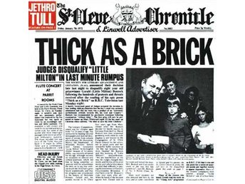 CD Jethro Tull Thick as a brick