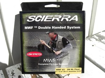 "Scierra Double Handed System RL Float 13-15 9"" 0,037"