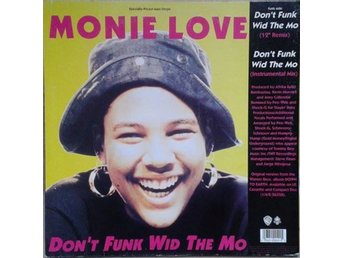 Monie Love titel* Down 2 Earth / Don't Funk Wid The Mo* Hip Hop, Rap US 12