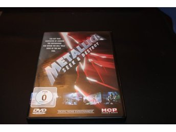 Dvd-film: Metallica - Seek and destroy