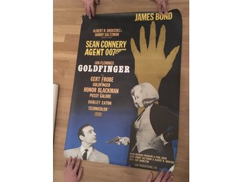 James Bond, Goldfinger poster