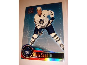 M SUNDIN PACIFIC CROWN ROYALE 98-99  PIVOTAL PLAYERS  22 Beg