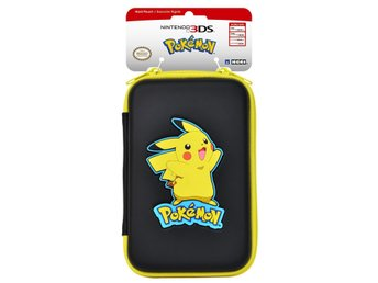 New 3DS XL Pikachu Hard Pouch (Black)