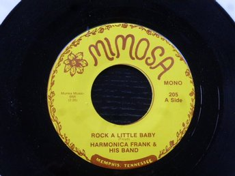 HARMONICA FRANK LARRY KENNON  - Rock a little baby/Monkey love