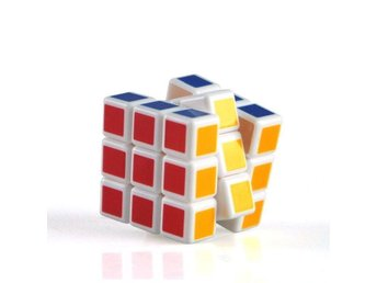 Rubiks Rubix kub cube mini 3x3 version vit