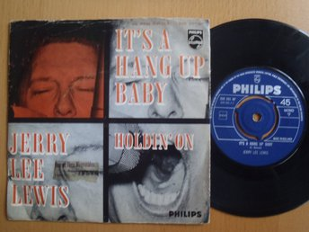 Jerry Lee Lewis It´s A Hang Up Baby  rare Dutch 45